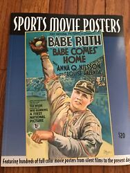 Sports Movie Posters Babe Ruth Cover Volume 4 Book Magazine Bruce Hershenson