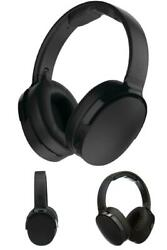Bluetooth Wireless Headphone Over-ear 22 Hour Battery Life Black Rapid Charge