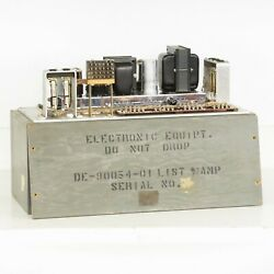 1960 Military Us Army Corps Vintage Microphone Pre Amplifier Amp Guitar 1 Of 2