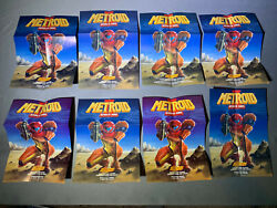 10 Posters Metroid Ii 2 Samus Returns And 1 Zelda A Link To The Past Poster