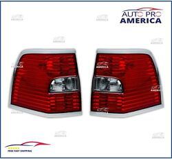2 New Oem Ford 2007-2014 Lincoln Navigator Driver And Passenger Tail Lamp Light