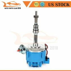 Hei Ignition Distributor Blue Cap For Sbf Ford Small Block 260 289 302