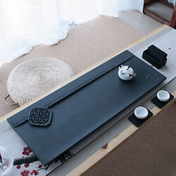 Weighted Tea Tray Black Stone Tea Table Natural Stone Serving Tea Tray 80cm30cm