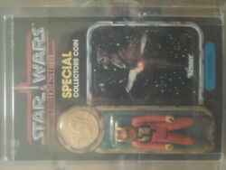 Rare Unpunched Vintage Kenner Star Wars Afa Y90 Power Of The Force B Wing Pilot