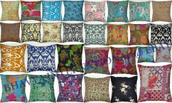 100pc Wholesale Lot Cushion Cover Assorted Handmade Decorative Pillow Case Throw