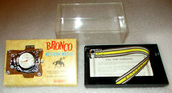 Bronco Western 1965 Gilbert  Brand New  Complete With Box And Warranty