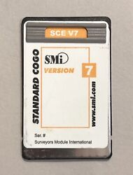 Smi Sce Surveying Card For Hp 48gx Calculator Version 7