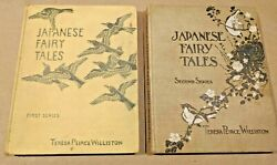 Japanese Fairy Tales 1st And 2nd Series By Teresa Williston Hc Mcnally 1932 1930