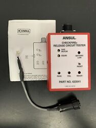 Wow New Ansul 423541 Checkfire Release Circuit Tester