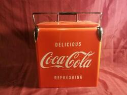 Coca Cola Cooler Soda Reproduction Soft Drinks Collectible Make An Offer