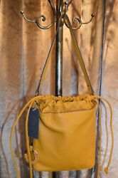 Vince Camuto Mandi Bucket Leather color Sunglow MSRP 198.00 $49.99