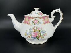 Royal Albert Lady Carlyle Large Teapot Bone China Brand New Made In England