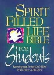 Spirit Filled Life Bible For Students By Larry Richards