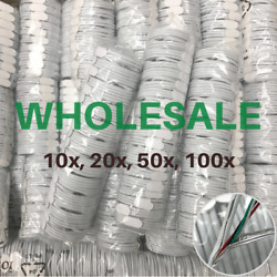 Wholesale 3/6ft Usb Cable Heavy Duty Lot For Apple Iphone 11 X Charger Data Cord