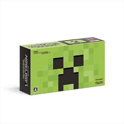 Minecraft Creeper Edition New Nintendo 2ds Ll Game Console Japan Ver. New