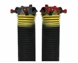 0.207 In. Wire X 2 In. D X 23 In. L Torsion Springs In Yellow Leftright Wound