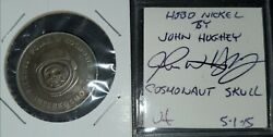 Vintage John Hughey Hobo Coin Commemorative Coin Honoring 1st Polish Cosmonaut