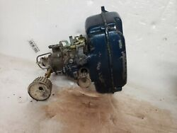 Evinrude10hp Outboard Motor Carburetor With Air Box And Knobs