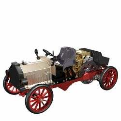 Teching 310+pcs Assembly Vintage Classic Car Metal Mechanical Toy Diy Electric