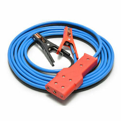 Aircraft Jumper Cable With Oval 3-pin Plug Style General Aviation 802-689b