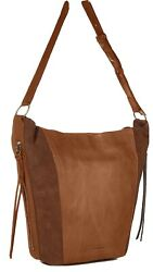 Lucky Brand keather suede bag $35.00