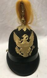 Us Military 1898 Indian War Mounted Service Cavalry Parade Helmet M1881