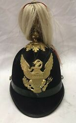 Us Military 1897 Indian War Mounted Service Cavalry Scout Parade Helmet M1881