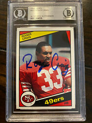 1984 Topps Football Roger Craig ROOKIE RC BAS AUTO #353 SIGNED 49ers SB CHAMP
