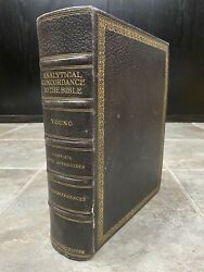 Rare Young's Analytical Concordance To The Bible Sixth Revised Edition Robert