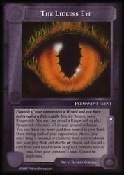 Meccg Middle-earth The Lidless Eye Le Complete Set 417 Cards Near Mint-mint
