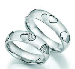 Pair Of Wedding Bands Engagement Rings Gold Diamond White