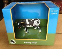 Big Country Toys Roping Steer 424 Cattle Cow Calf Rodeo