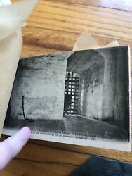 Antique 1910 Postcard Lot Castle Prison Dungeons, Torture Chamber Loches France