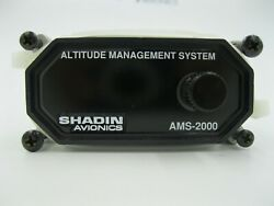 Shadin Avionics Altitude Alert System 8900 Inspected With 8130