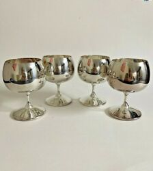Gorham Silver Plated Goblet Brandy Snifter Cup Yc 1144