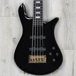 Spector Euro 5 Classic 5-string Bass, Rosewood Fretboard, Solid Black Gloss