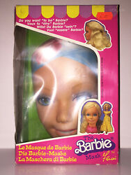 Barbie The Mask By Florian   Mattel 1985 And03980   New Mib Nrfb Vintage Italy Doll
