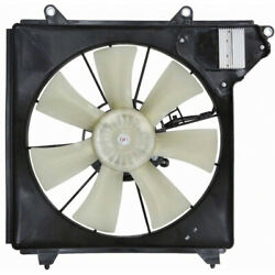 For Acura Rlx A/c Radiator Fan 2014 2015 2016 W/ Controller For Ac3113117