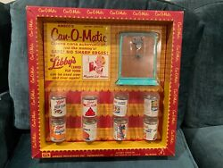 Vintage Amsco Libby's Can-o-matic Kitchen Toy With Libby's Canned Play Foods