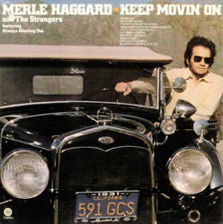 Merle Haggard Keep Movinand039 On Vinyl 12 Capitol Records St-11365 1975