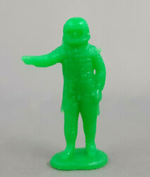 1 Marx Astronaut Mystery Space Ship Green Plastic Vintage Playset Figure A