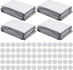4 Pack High Silver Reflective Mylar Film, Garden Greenhouse Covering Foil