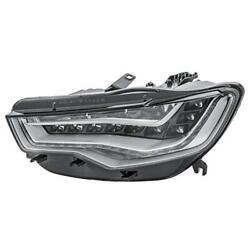 Hella Headlight Led For Audi A6 4g2 4g5 4gh C7 On The Left