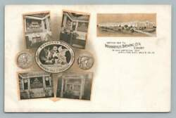 Indianapolis Brewing Co 1904 St. Louis Worldand039s Fair Beer Advertising Postcard