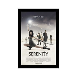 Serenity Firefly - 11x17 Framed Movie Poster By Wallspace