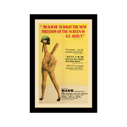 Mash - 11x17 Framed Movie Poster By Wallspace
