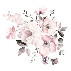 1*Flower Wall Stickers Wall Art Stickers Wall Decals Floral Sticker Home Decor.