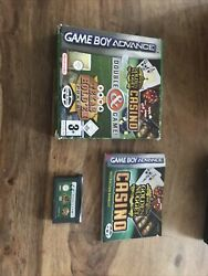 Golden Nugget Casino And Texas Hold Em Poker - Nintendo Game Boy Advance Complet
