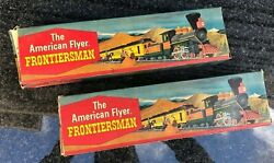 24730 American Flyer Overland Express 30 Baggage Car L/n In Ob Lot Of Two