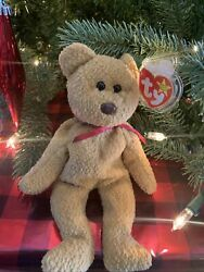 Ty Beanie Baby Curly Bear 1996 1993 W Tag Errors Plush Toy Animal Rare Retired
